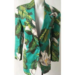 Jackets & Blazers - Green & White Blazer 8